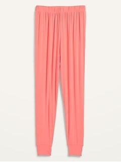 High-Waisted Sunday Sleep Ultra-Soft Jogger Pajama Pants for Women