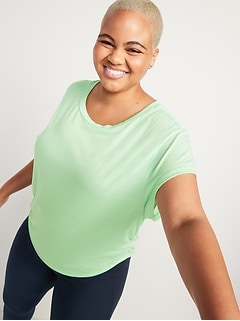 UltraLite Side-Ruched Performance Top for Women