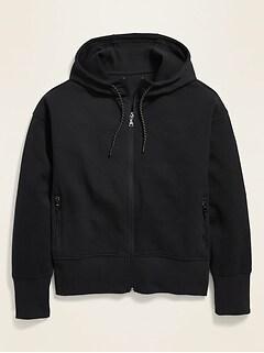 Dynamic Fleece Zip Hoodie for Women