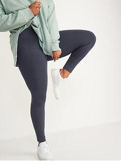 Mid-Rise Jersey-Knit Leggings For Women
