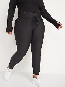 High-Waisted PowerSoft Zip Jogger Pants for Women