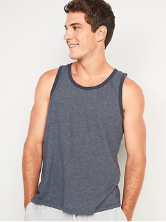 Soft-Washed Tank Top for Men