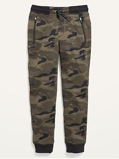 Pantalon d'entraînement à poche à glissière pour garçon