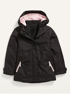 3-in-1 Hooded Snow Jacket for Girls