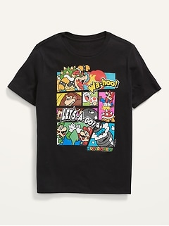 Gender-Neutral Licensed Graphic T-Shirt for Kids