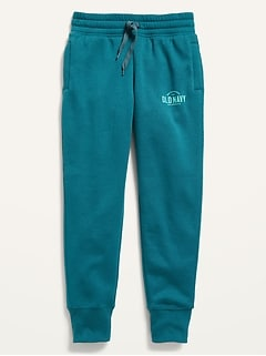 Vintage High-Waisted Jogger Sweatpants for Girls