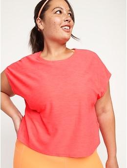 T-shirt Breathe ON ample à manches courtes pour Femme