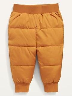 Frost-Free Puffer Pants for Baby