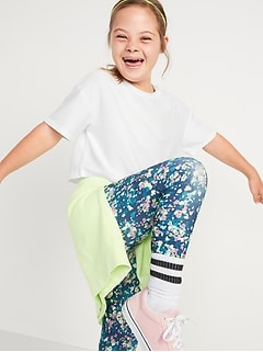 Breathe ON Short-Sleeve Cropped Performance T-Shirt 2-Pack for Girls