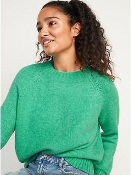 Cozy Crew-Neck Sweater for Women
