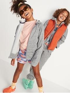 Gender-Neutral Zip Hoodie for Kids