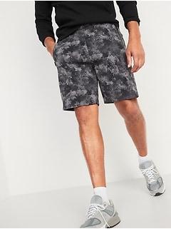 Dynamic Fleece Jogger Shorts for Men --9-inch inseam