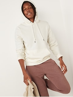 Gender-Neutral Solid-Color Pullover Hoodie for Adults