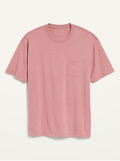 T-shirt surdimensionné ultra-doux à poche pour Homme
