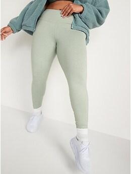 High-Waisted CozeCore Side-Pocket Leggings for Women