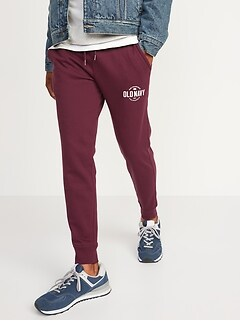 Logo-Graphic Jogger Pants for Men