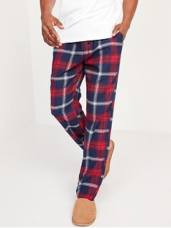 Matching Plaid Flannel Pajama Pants for Men