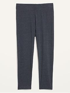 High-Waisted Cropped Leggings For Women