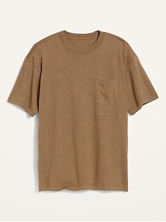 Oversized Heavyweight Pocket T-Shirt for Men