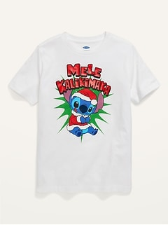 Gender-Neutral Holiday-Themed Licensed Pop-Culture T-Shirt for Kids