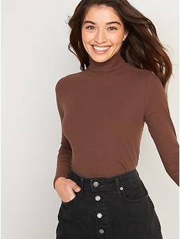 Long-Sleeve Ribbed Sweater for Women